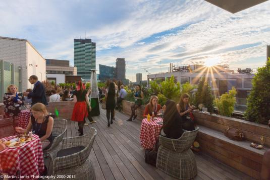 State Rooms & Rooftop Terrace