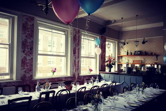 Top Private Dining Rooms For Birthdays In London. The Crooked Well #9.  Birthday Party At The Crooked Well #1