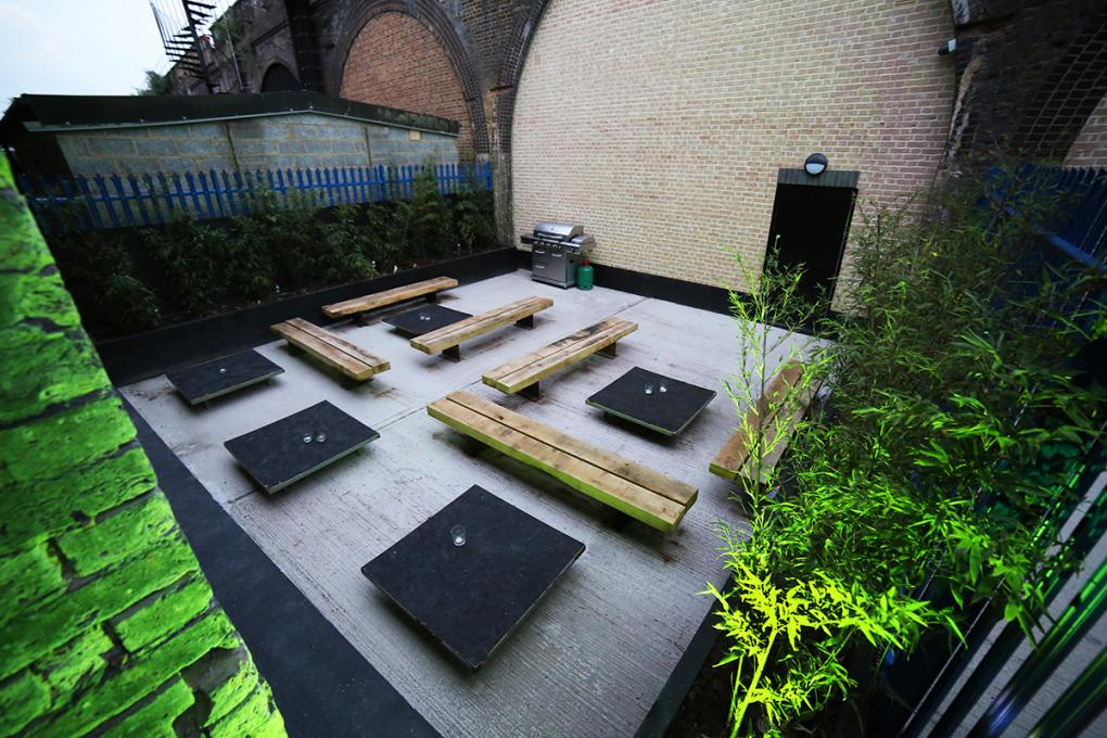 Outside Space at Bermondsey Social Club #1