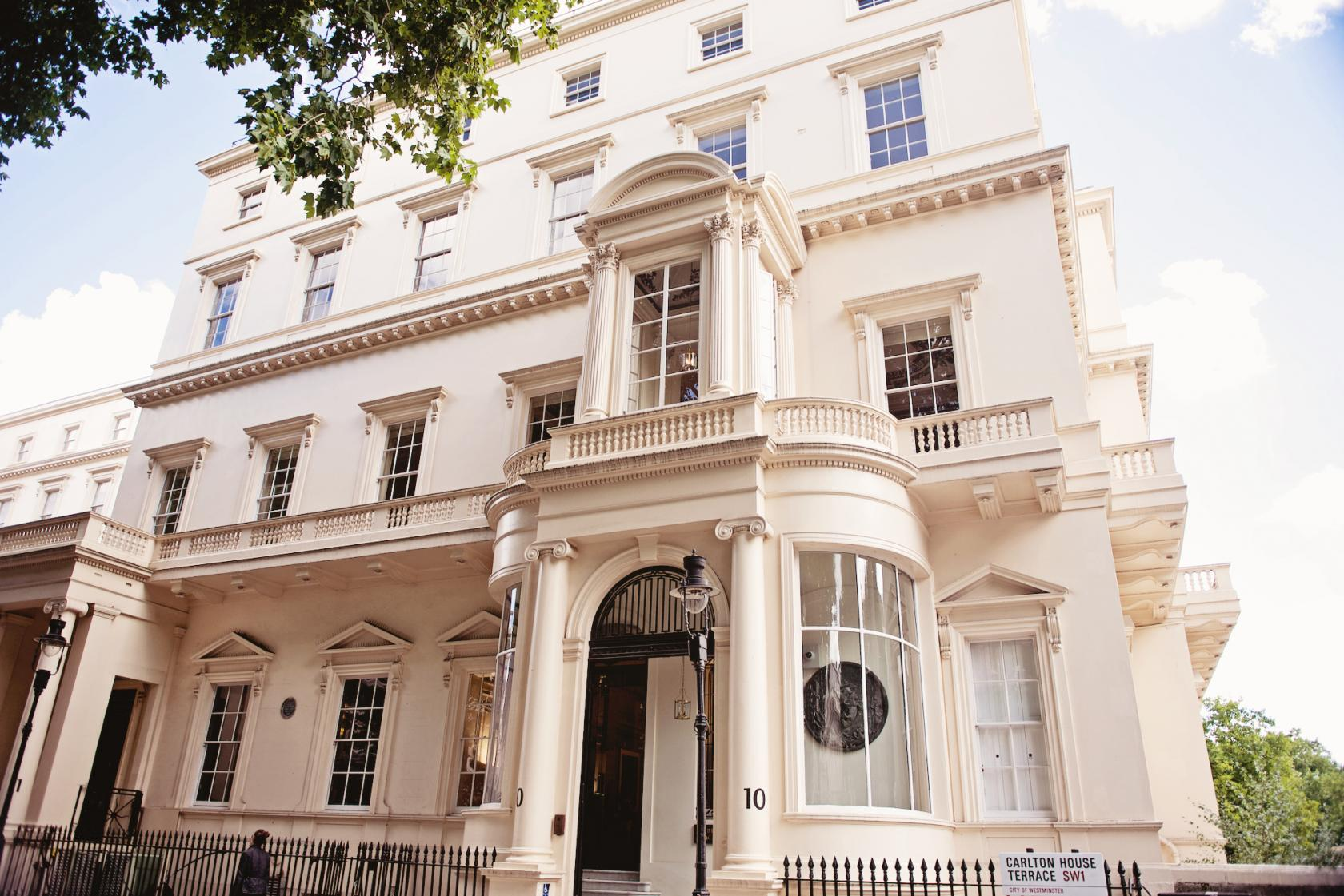 Book the marks room at 10 11 carlton house terrace for The terrace house book