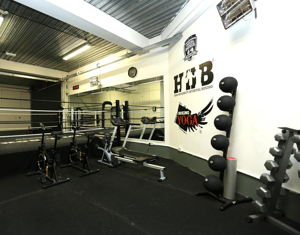 Book boxing gym floor at yoga studio
