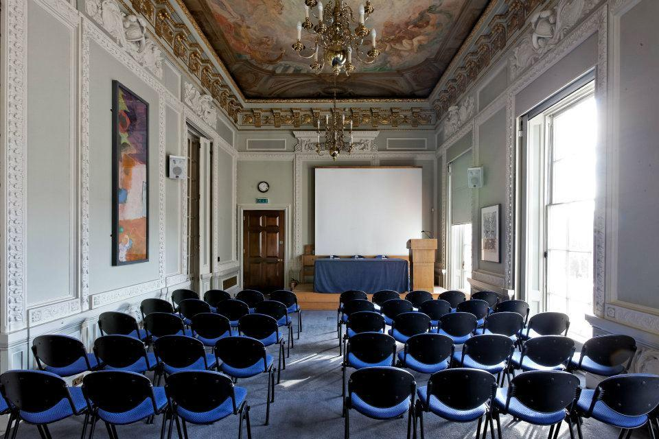 Book the lecture room at 10 11 carlton house terrace for The terrace house book