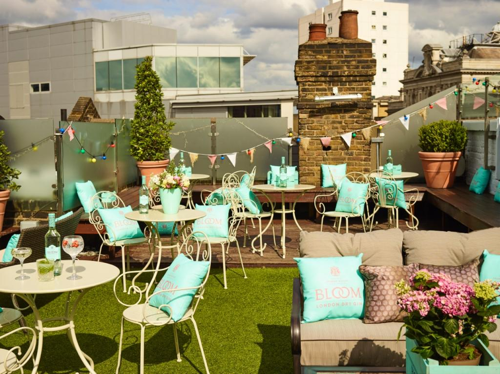 Rooftop terrace broadway house in london best prices for Terrace 167 wedding venue