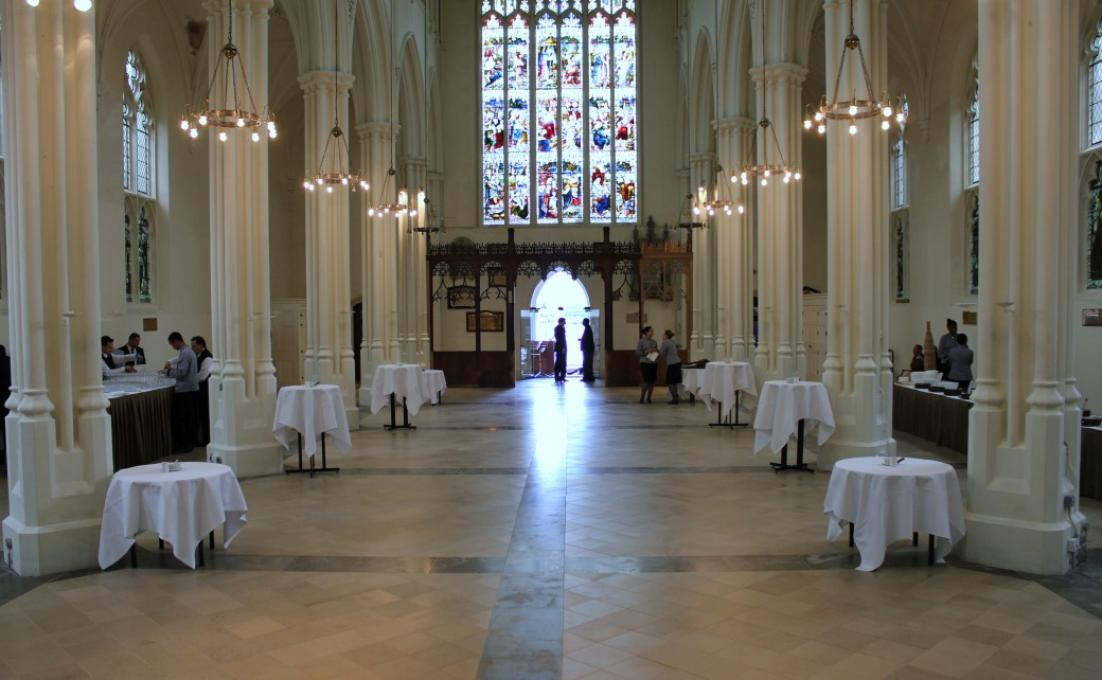 Main Hall at Halls for hire at St John's Hyde Park #1