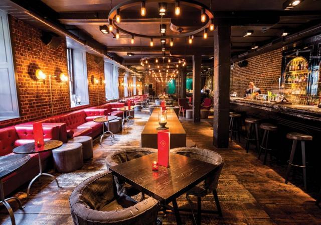 Bar at Old Bengal Bar #2