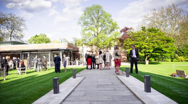 Dulwich picture gallery for private venue hire prices for Garden pool hire london