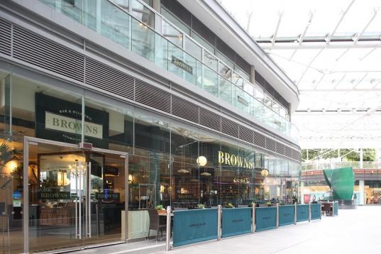 Browns Victoria Restaurant London