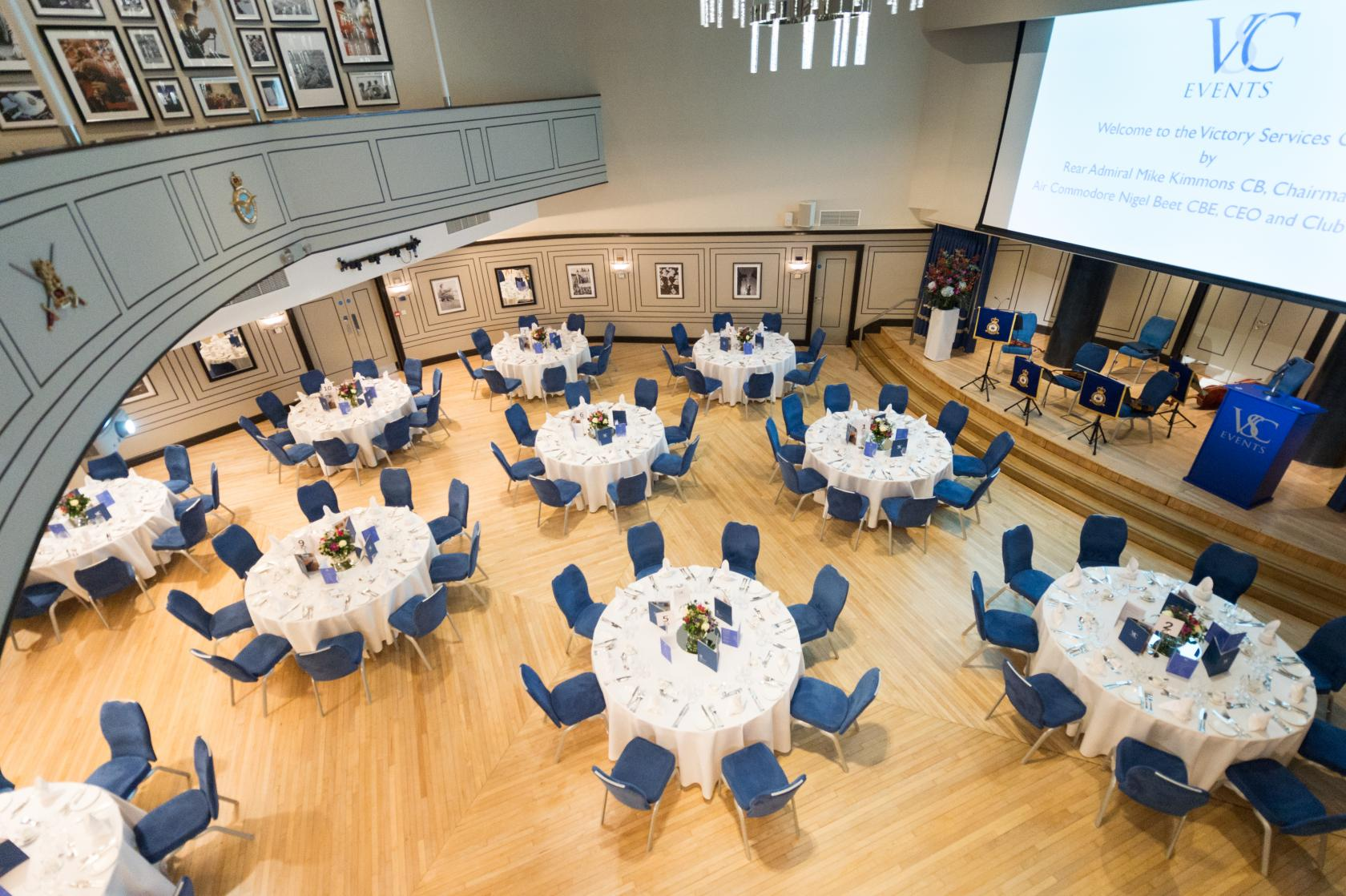 The Carisbrooke Hall Victory Services Club Event Venue