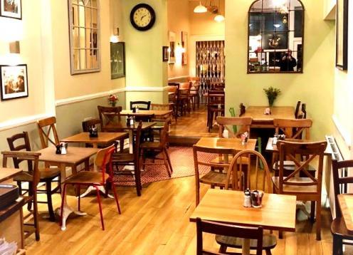 Cafe - main room