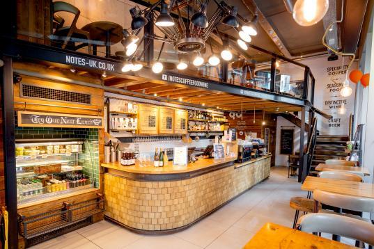 Notes Coffee & Wine Bar - Kings Cross