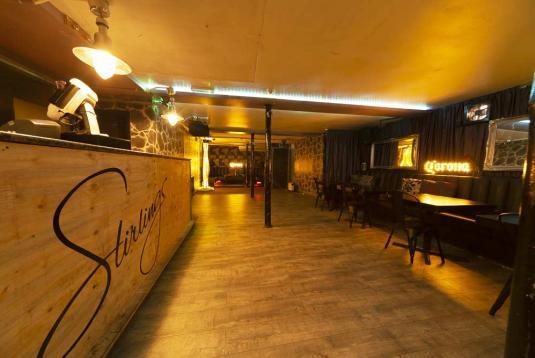 Mezzanine Area Stirlings Bar Event Venue Hire