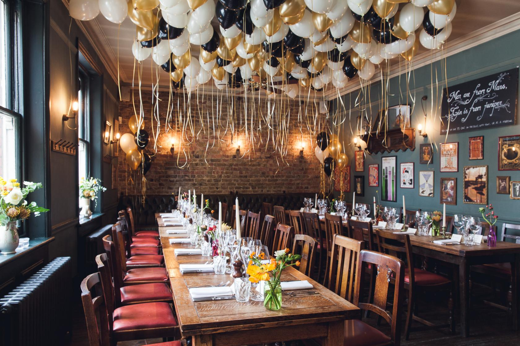The Lady Ottoline boasts one of the cosiest private dining rooms in Bloomsbury.