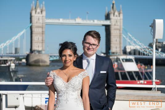 Wedding on the Thames