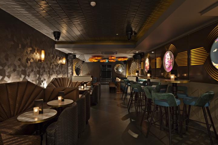 VIP Area at Dirty Martini Islington #2