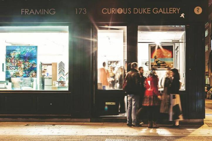 at Curious Duke Gallery #2