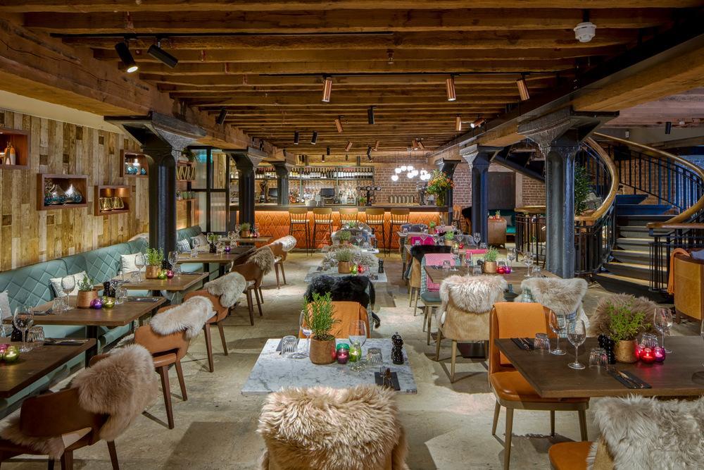 The Tea Room Canary Wharf