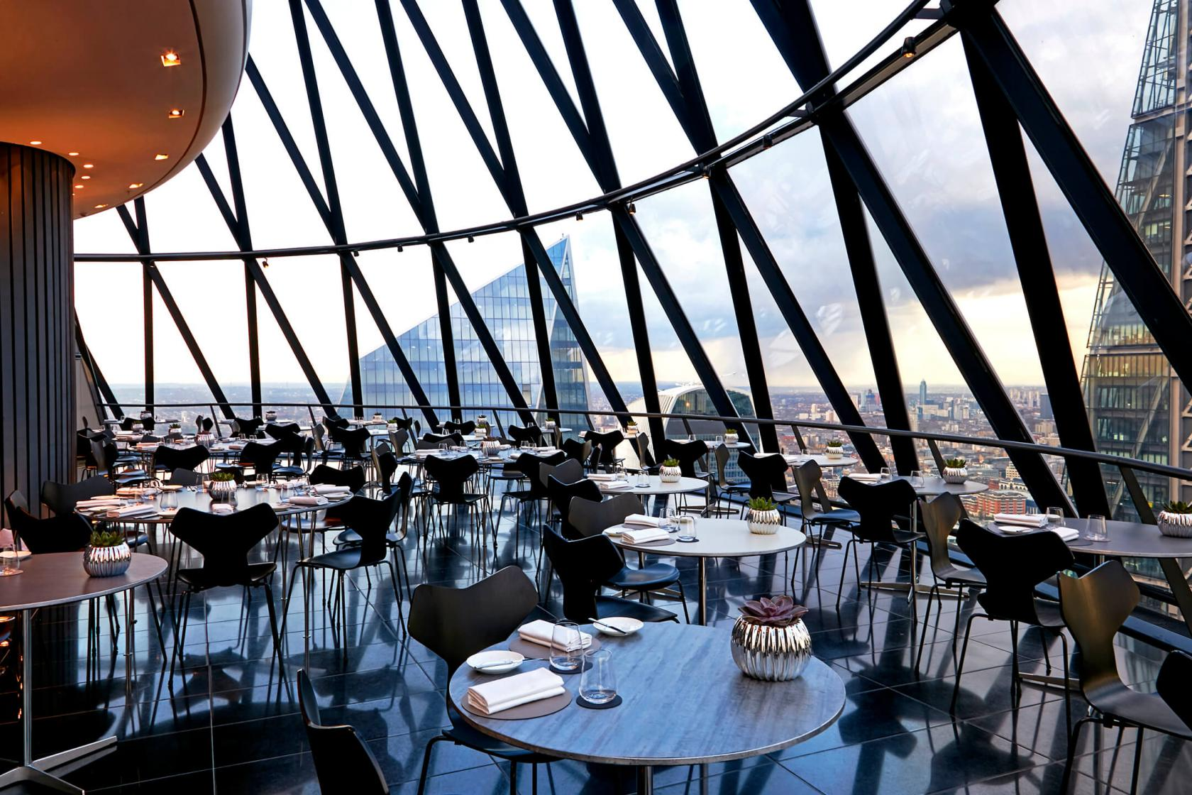Exclusive Hire Of Helix Amp Iris Searcys At The Gherkin