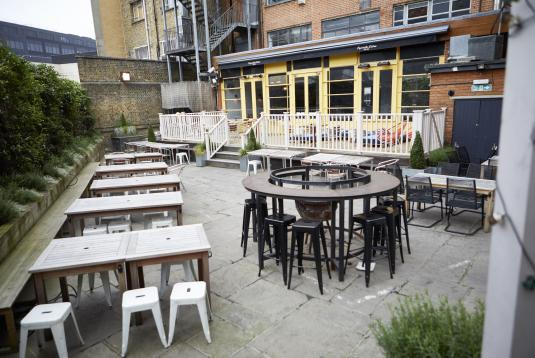 The Garden & Terrace