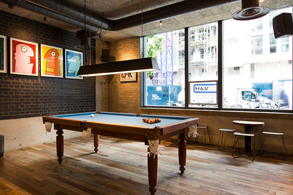 The Pool Room at Heist Bank #1
