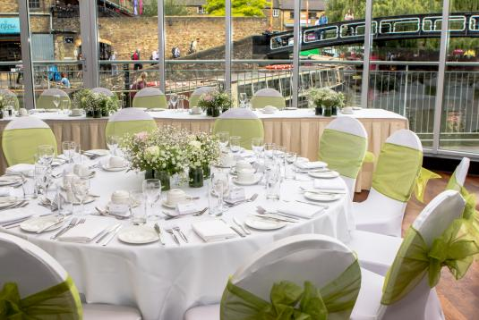 Canalside Wedding