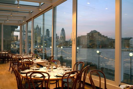 Top 10 riverside venues for hire in london tagvenue whole venue at blueprint caf 1 malvernweather Gallery