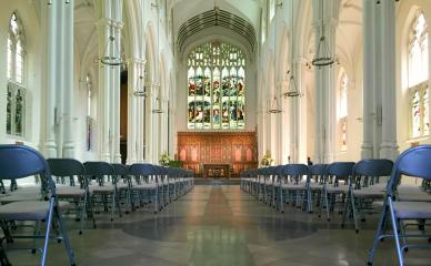 Main Hall at Halls for hire at St John's Hyde Park #4
