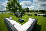 Marquee and Lawns at Ravens Ait Island #2