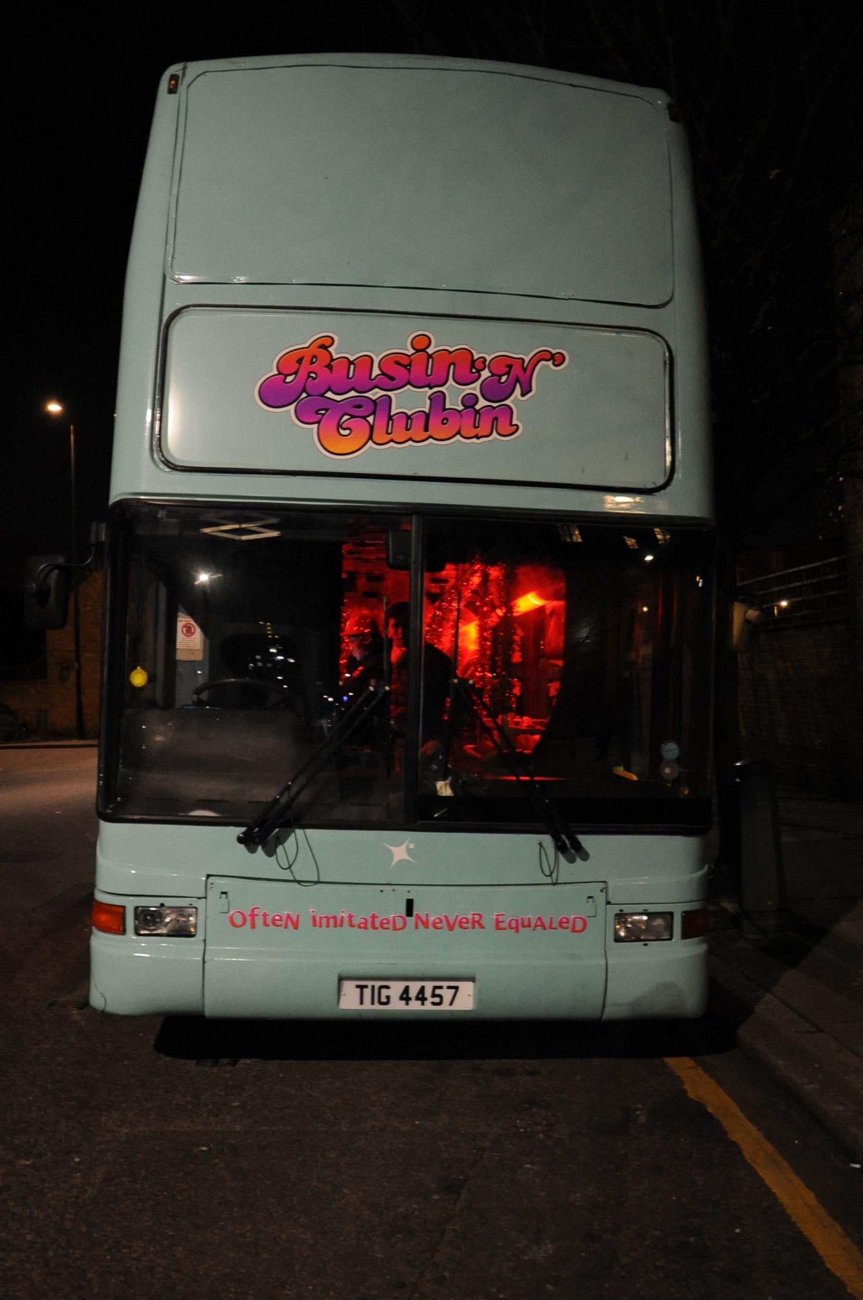 Party Bus London Party Bus Event Venue Hire Tagvenue Com
