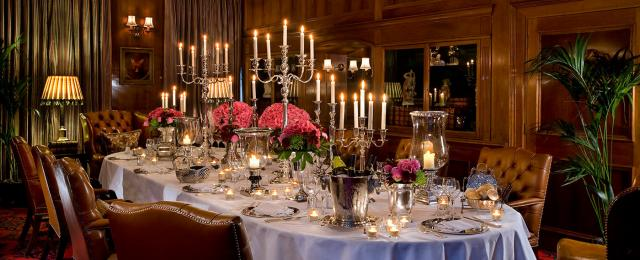 Book private dining at the chesterfield mayfair tagvenue for Best private dining rooms mayfair