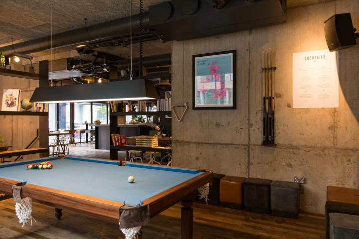 The Pool Room at Heist Bank #2