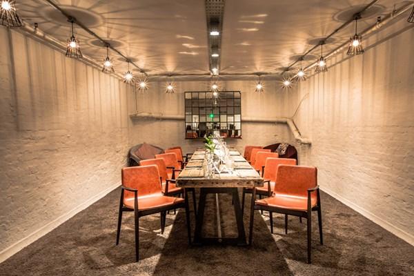 private dining room basement the anthologist event venue hire rh tagvenue com