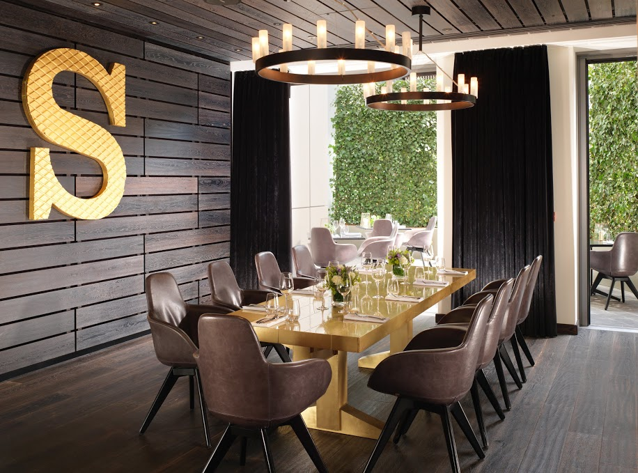 Private Dining Room at Mondrian London at