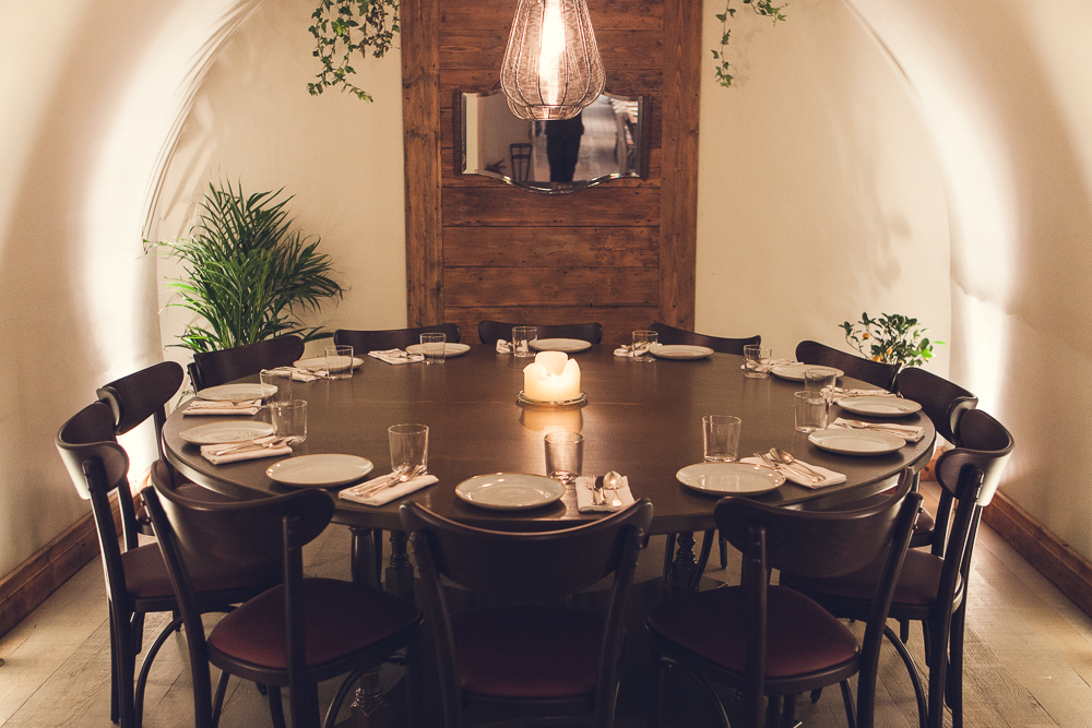 Book semi private rooms at pachamama bar kitchen tagvenue for Best private dining rooms central london