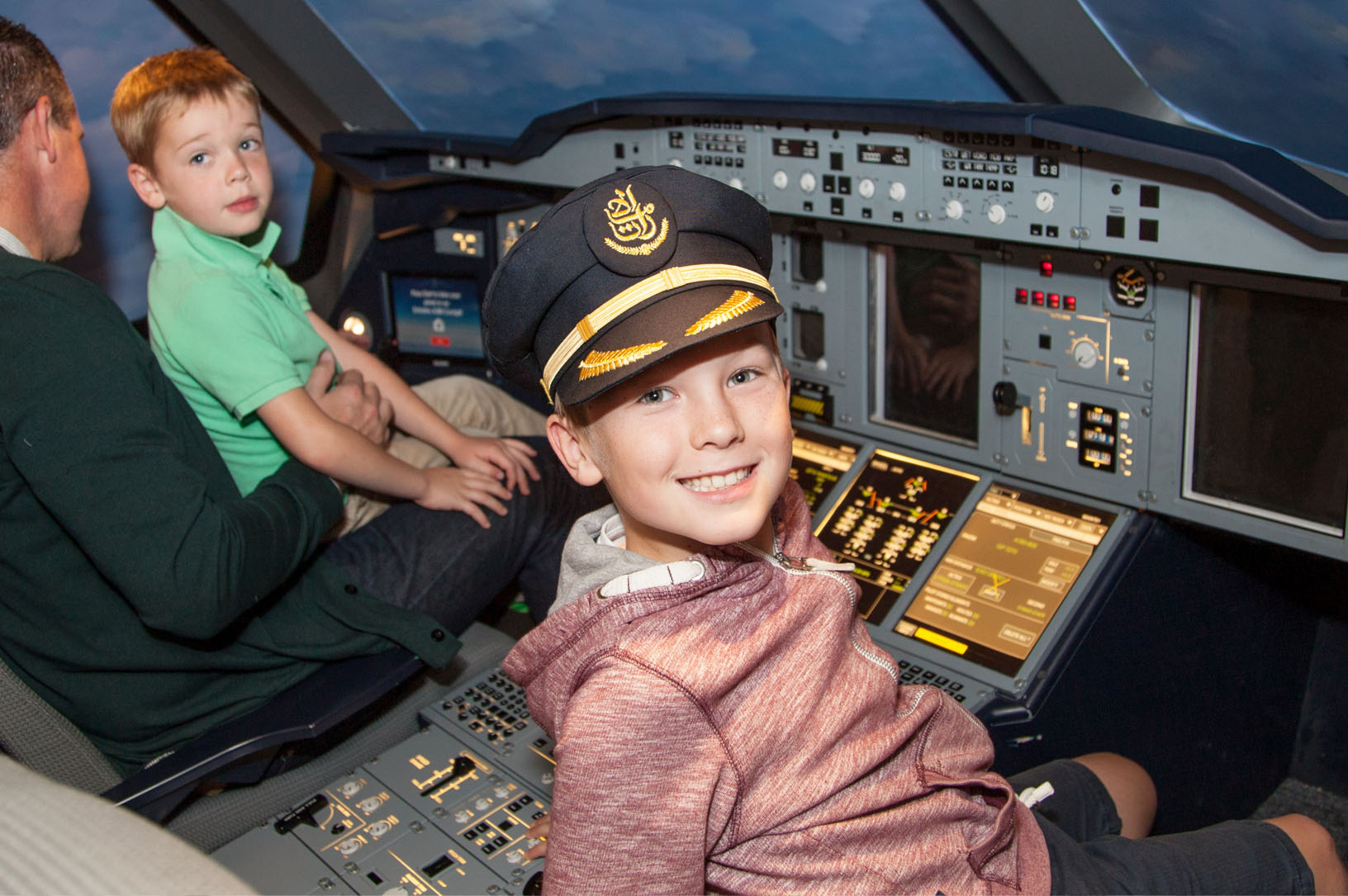 Aviation Birthday Packages - Emirates Aviation Experience - Event