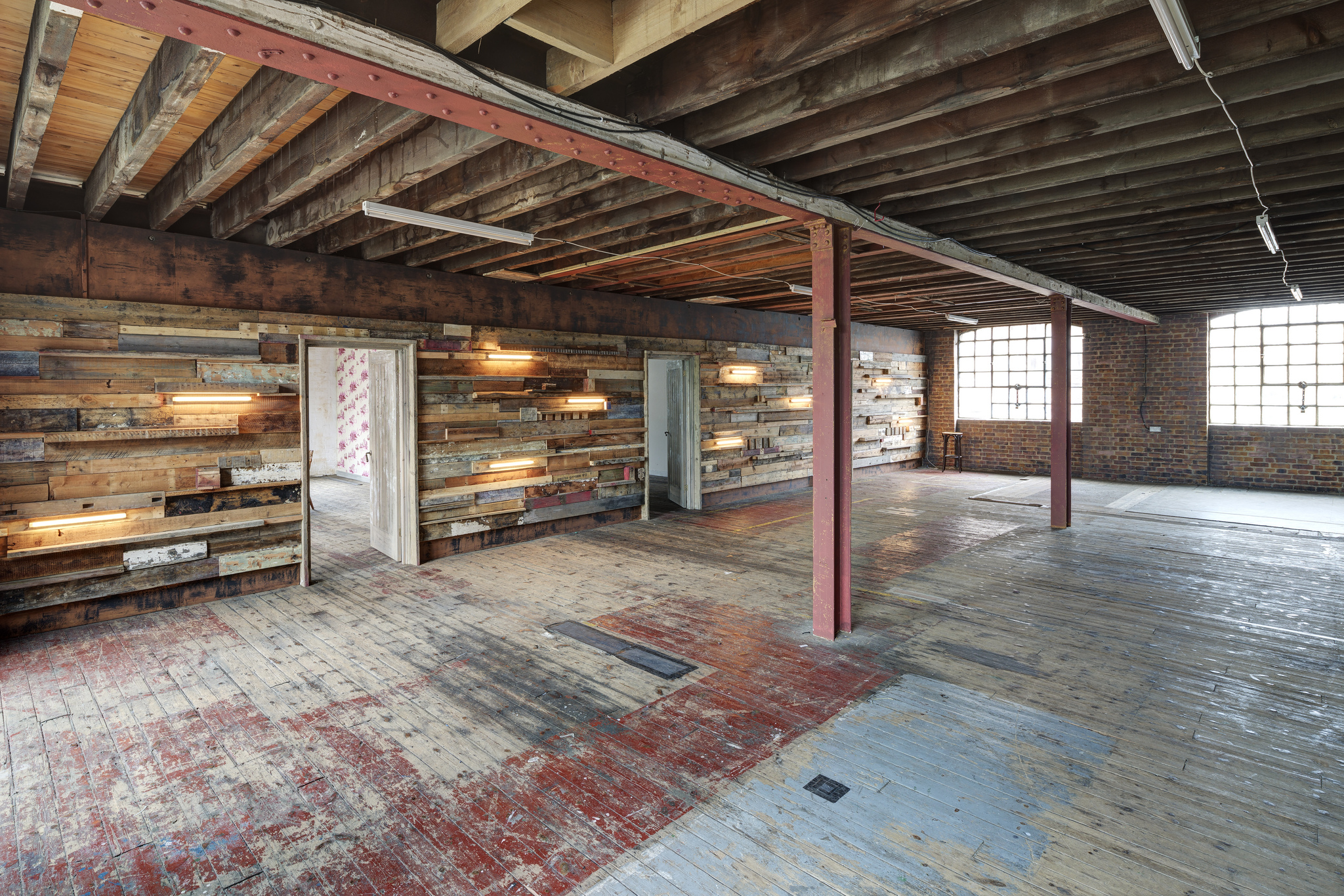 Loft Apartment Industrial Mezzanine