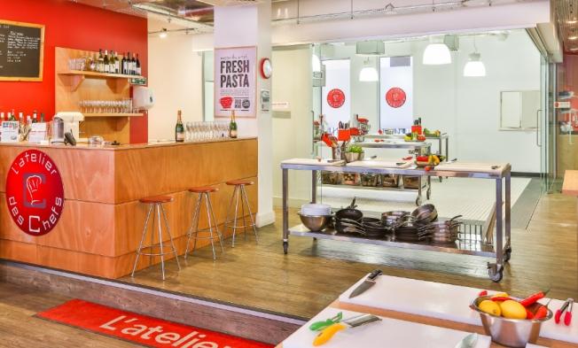 book st paul 39 s kitchen at l 39 atelier des chefs st paul 39 s tagvenue. Black Bedroom Furniture Sets. Home Design Ideas