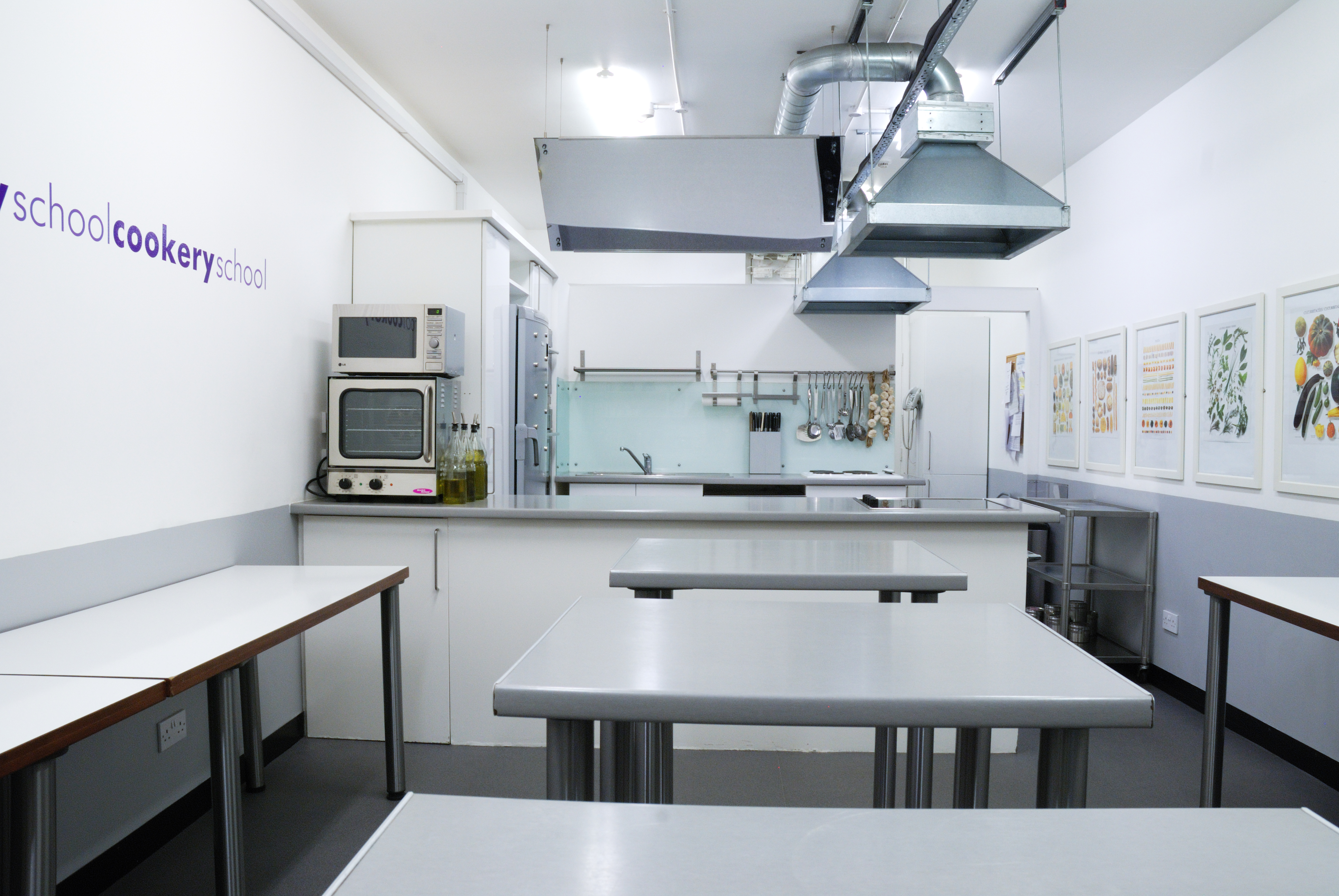 Book Small kitchen at Cookery School at Little Portland St - Tagvenue