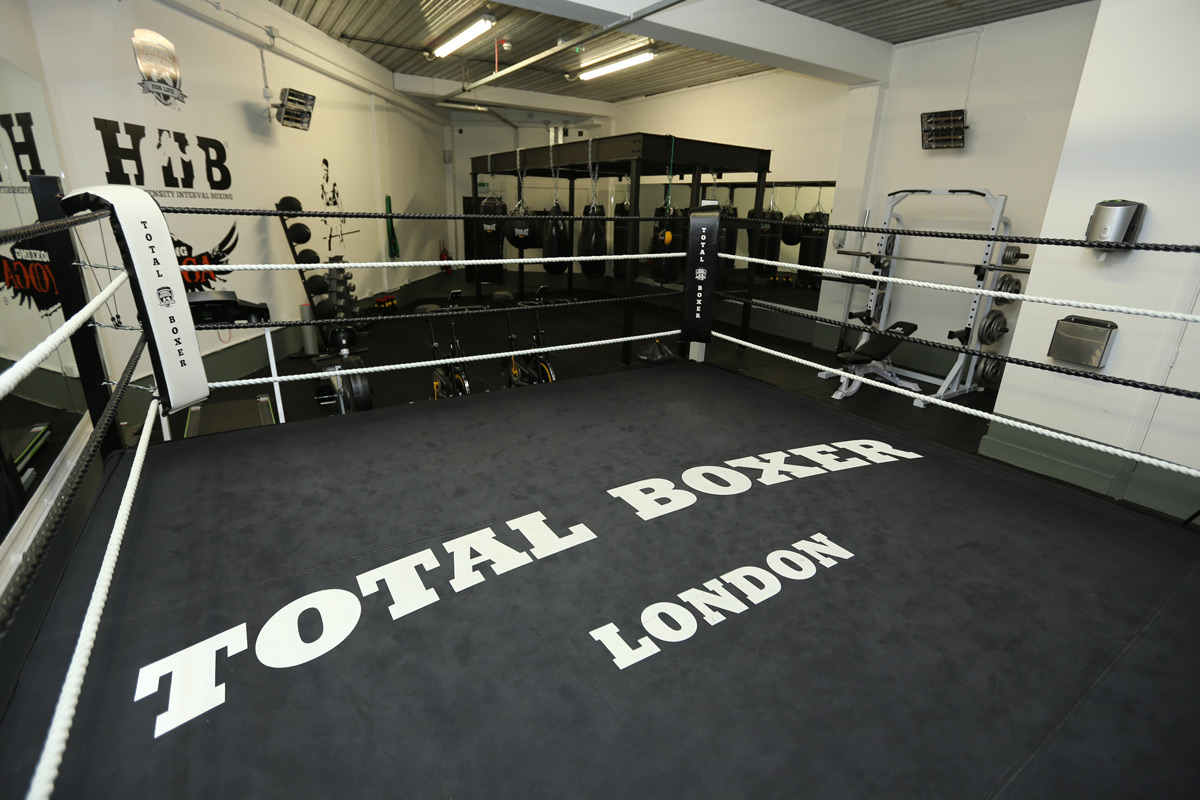 Boxing gym over two floors for private venue hire prices