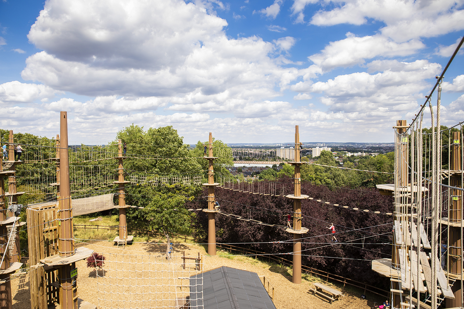 Treetop Challenge Go Ape Alexandra Palace Event Venue Hire Tagvenue Com